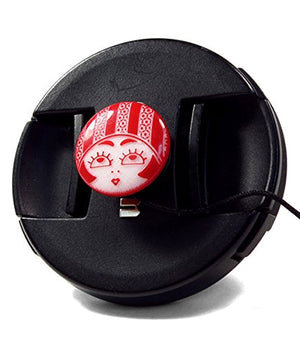 Mod Straps Red Flapper Girl Lens Cap Keeper