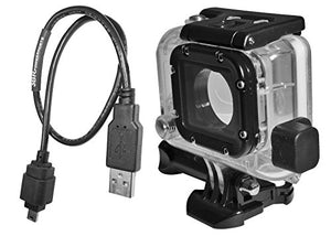 X~Pwr All Weather, External Power Case Kit For Go Pro Hero 3, Hero 3+ And Hero 4 Camera With 18