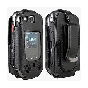 Verizon Wireless Samsung U680 Convoy 3 Original Swivel Fitted Case Soft Black Leather Holster