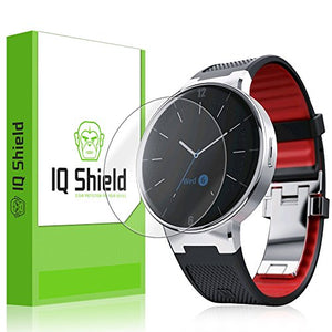 IQ Shield Screen Protector Compatible with Alcatel OneTouch Watch (6-Pack) LiquidSkin Anti-Bubble Clear Film