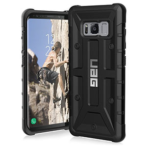 UAG Samsung Galaxy S8 [5.8-inch screen] Pathfinder Feather-Light Rugged [BLACK] Military Drop Tested Phone Case