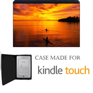 Kayaking Kayak Kindle Touch Fabric Notebook Case / Cover Great Gift Idea