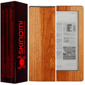 Skinomi Light Wood Full Body Skin Compatible with Kobo Aura HD (e-Reader)(Full Coverage) TechSkin with Anti-Bubble Clear Film Screen Protector