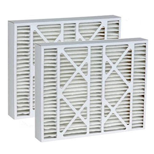 Tier1 16x25x5 Merv 11 Replacement for Goodman G5-1625-11 Replacement AC Furnace Air Filter 2 Pack
