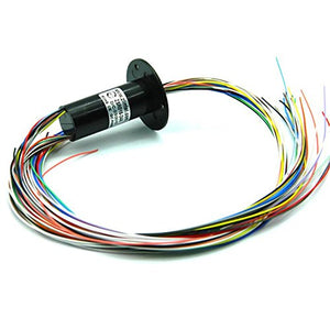 1 pcs lot 24-pin cap-type conductive slip ring Multi-channel can be connected in parallel conductive ring collector ring