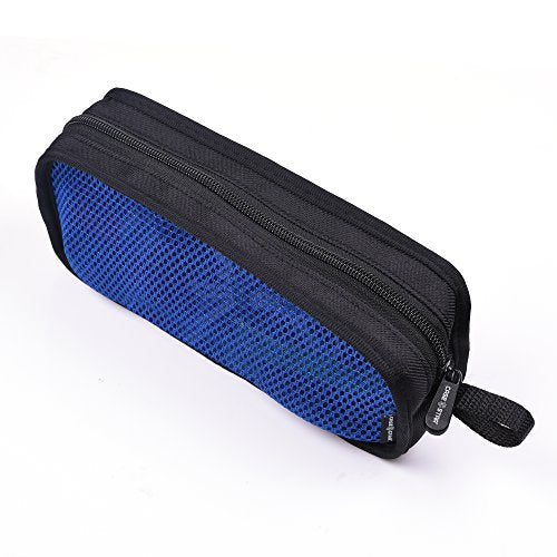 Cable Organizer Case Bag Portable Travel Computer Accessories Organizer Zipper Mesh Pouch For Laptop