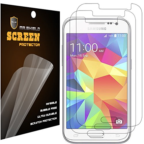 Mr.Shield for Samsung Galaxy Core Prime Premium Clear Screen Protector [3-Pack] with Lifetime Replacement