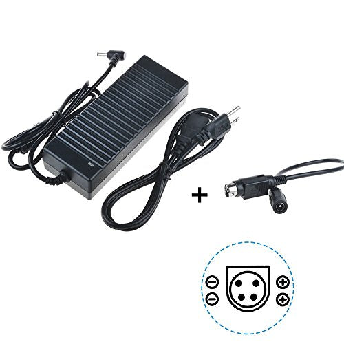 SLLEA 4-Pin DIN 4 PIN 12V AC/DC Adapter for FSP Group Inc. Sparkle Power Model No.: FSP150-AHAN1 P/N: 9NA1501829 SPI P/N: AD150-AHAN1-INTL Power Supply (Note: its Pin is 1,3=+12V and Pin 2,4=COM)