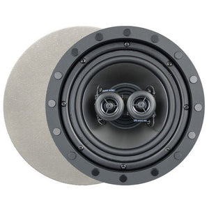 Channel Vision 6.5 In. Soprano ARIA Single Point Stereo In-Ceiling Frameless Speaker (Single) (ID653)