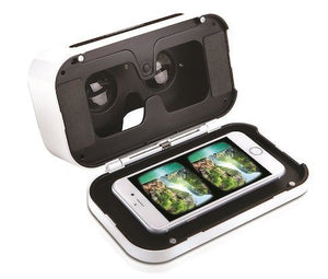 Smartphone 360 Degree Virtual Reality Headset - White