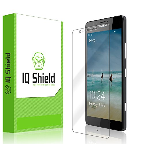 IQ Shield Screen Protector Compatible with Microsoft Lumia 950 LiquidSkin Anti-Bubble Clear Film