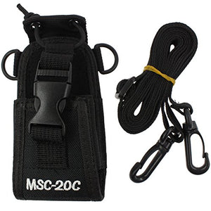 Tenq 3in1 Multi-Function Universal Pouch Bag Holster Case for GPS Pmr446 Motorola Kenwood Midland Icom Yaesu Two Way Radio Transceiver Walkie Talkie Ms-20c