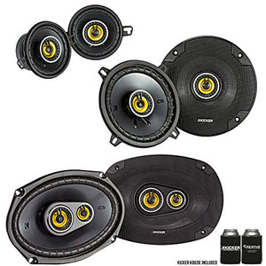Kicker for Dodge Ram Truck 2002-2011 Speaker Bundle - CS 6x9 3-Way Speakers, CS 5.25