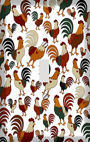 Roosters Galore Switchplate - Switch Plate Cover
