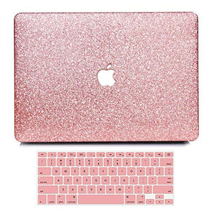 B BELK MacBook Pro 13 Inch Case with Retina Display, 2 in 1 Bling Crystal Smooth Ultra-Slim Light Weight PC Hard Case with Keyboard Cover for MacBook Pro 13 inch with Retina (Model:A1502/A1425)