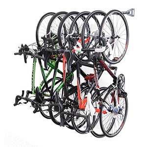 Monkey Bars Bike Storage Rack 2.0   Store Up To 6 Bikes   300lb Weight Capacity Garage Bike Rack