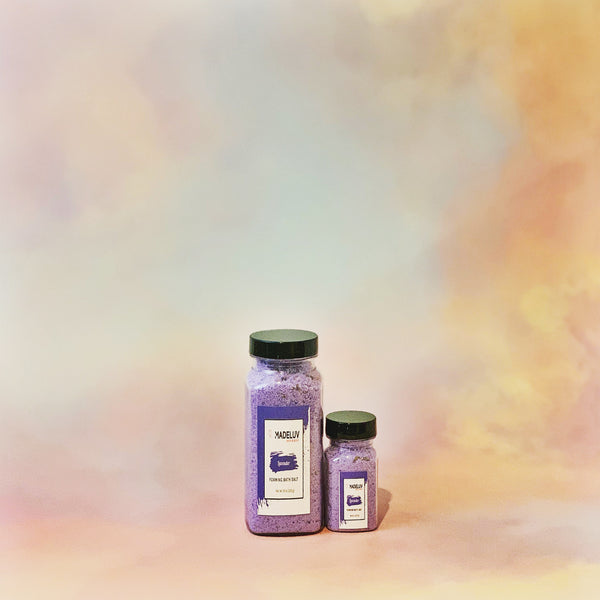 Lavender Foaming Bath Salt