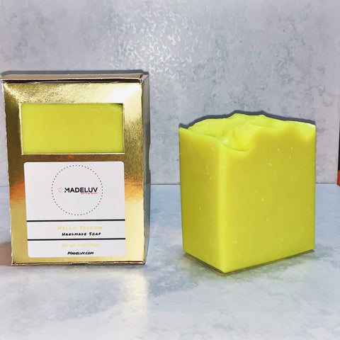 6 oz Hello Yellow Cold Process Soap