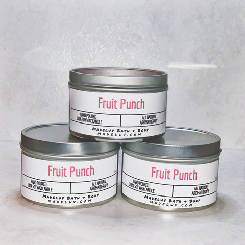 Fruit Punch Soy Wax Candle