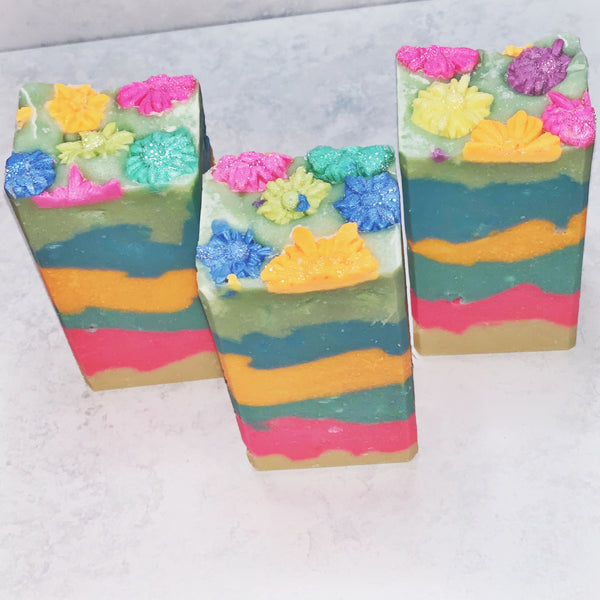 Flower Power Cold Process Soap