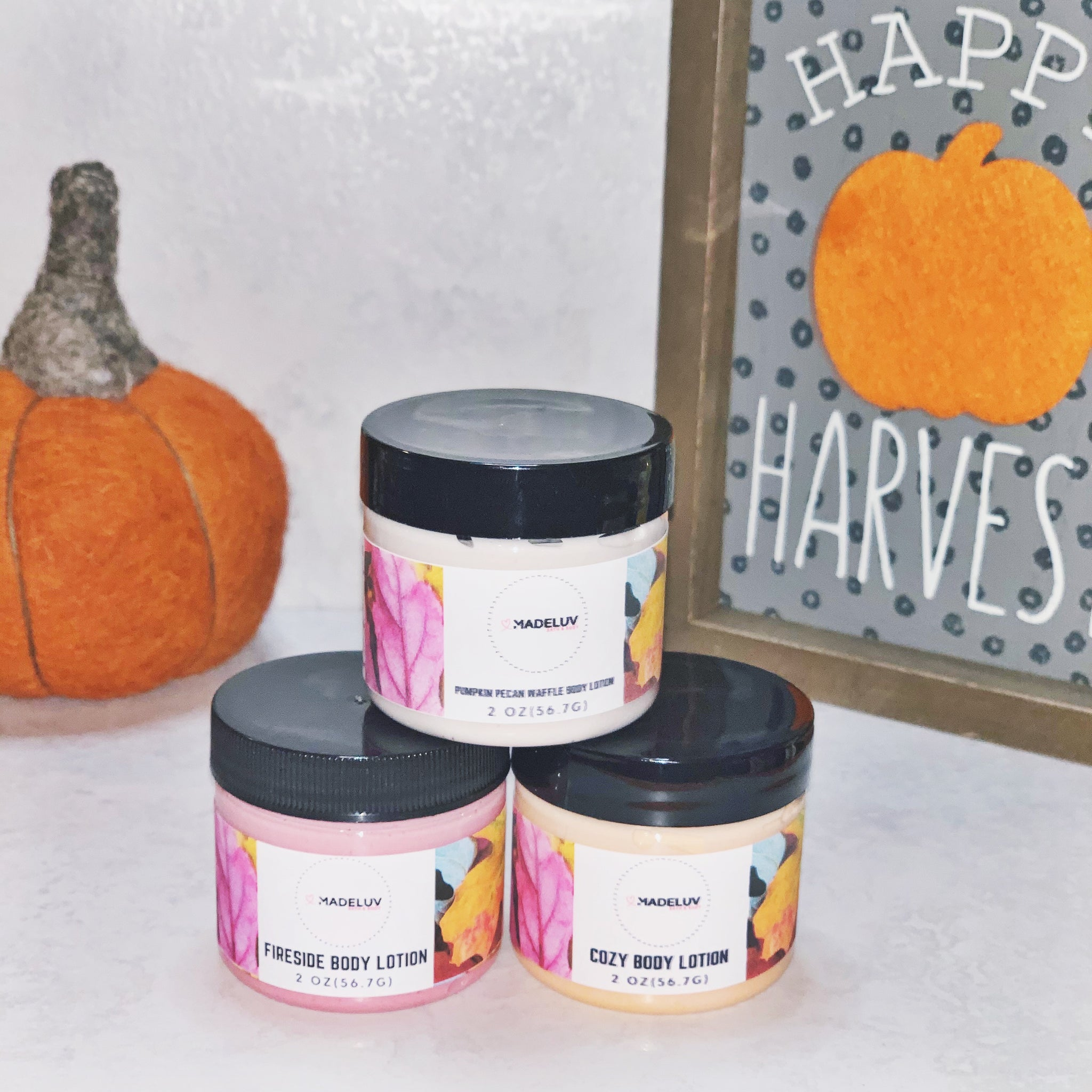 Fall Body Lotion Trio***Limted Edition***