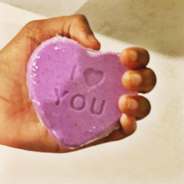 Conversation Hearts Bath Bomb Gift Set