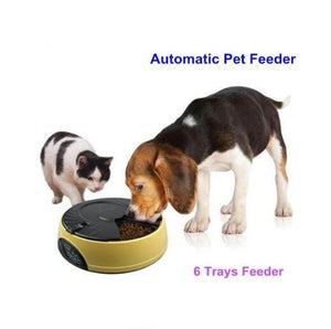 LCD Automatic Pet Feeder With Recorder Mode