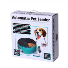 Load image into Gallery viewer, LCD Automatic Pet Feeder With Recorder Mode