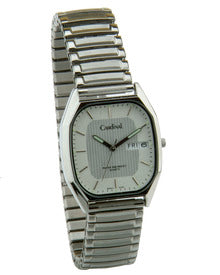 "SIlver Tone ""Quartz Analog"" Watch"