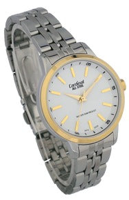 Two Tone Analog Stainless Steel Watch