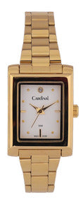 "Gold Tone ""Quartz Analog"" Watch"