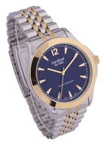 Silver Tone Analog Stainless Steel Watch