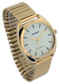 "Gold Tone ""Quartz Analog Watch"