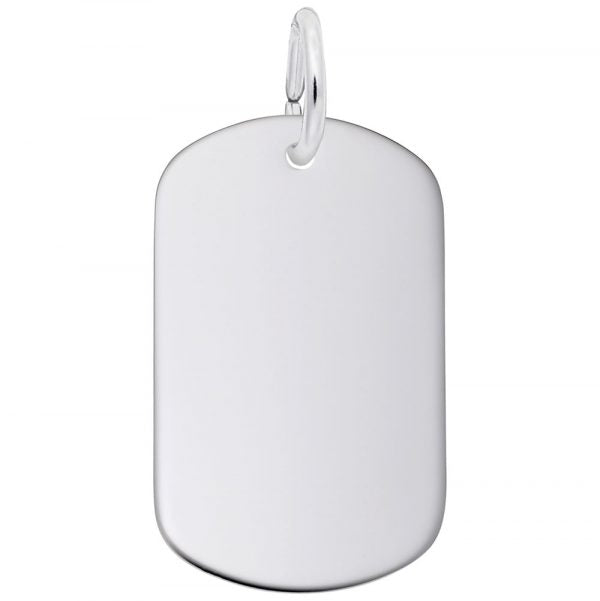 Small Oval Dog Tag