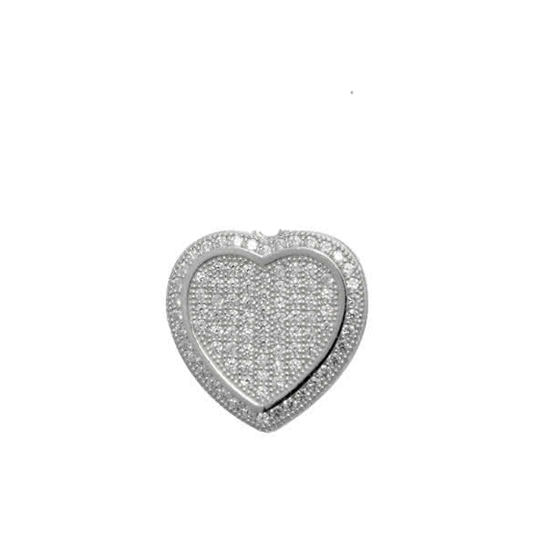Heart Shaped Slider Necklace