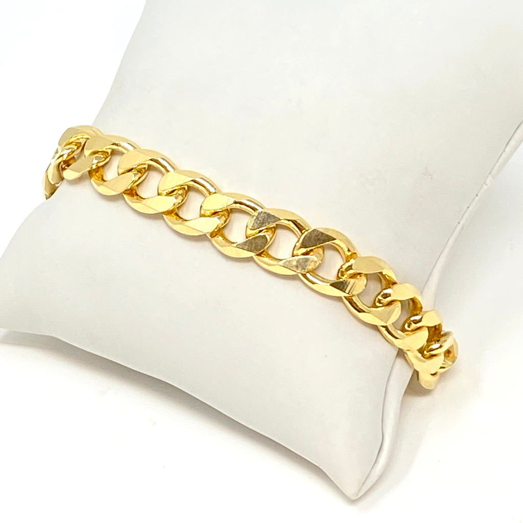 August Chainlink Bracelet in Gold