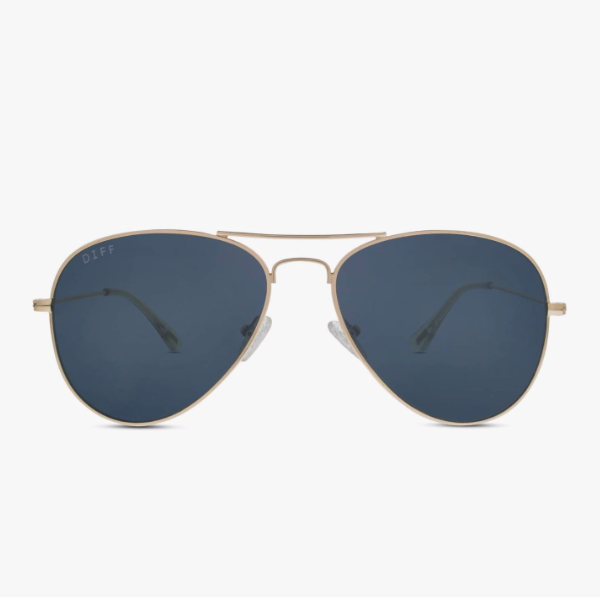 Cruz Aviator in Gold with Grey Lens