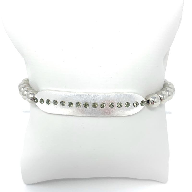 DOTS Ball Bracelet in Silver