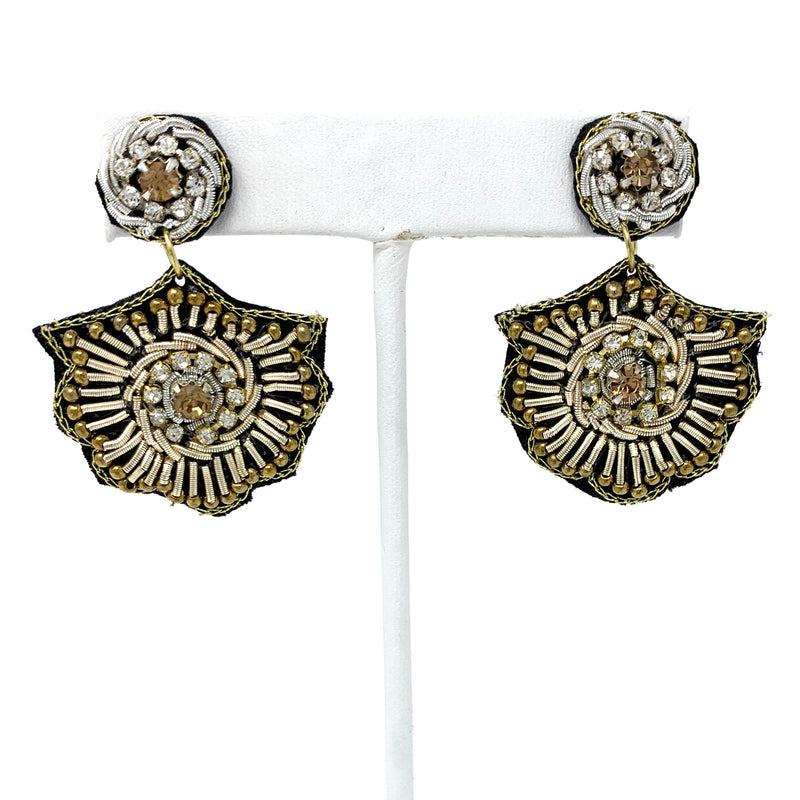 SALE! The Royal Crystal Earring