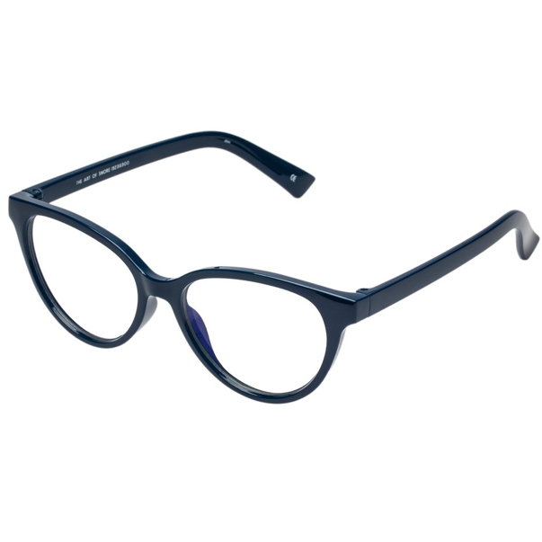 Art of Snore Blue Screen Glasses in Navy