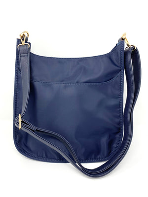 Back in the Saddle Bag in Navy Nylon