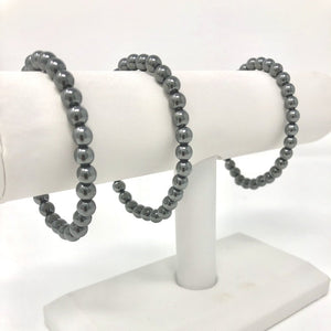 Ball Stacker Bracelet in Gunmetal