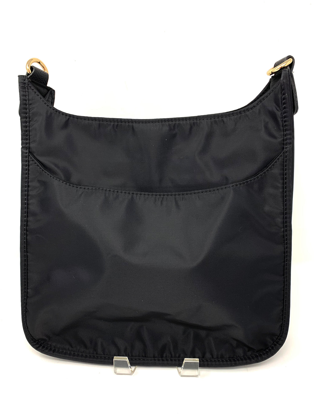 Back in the Saddle Bag in Black Nylon