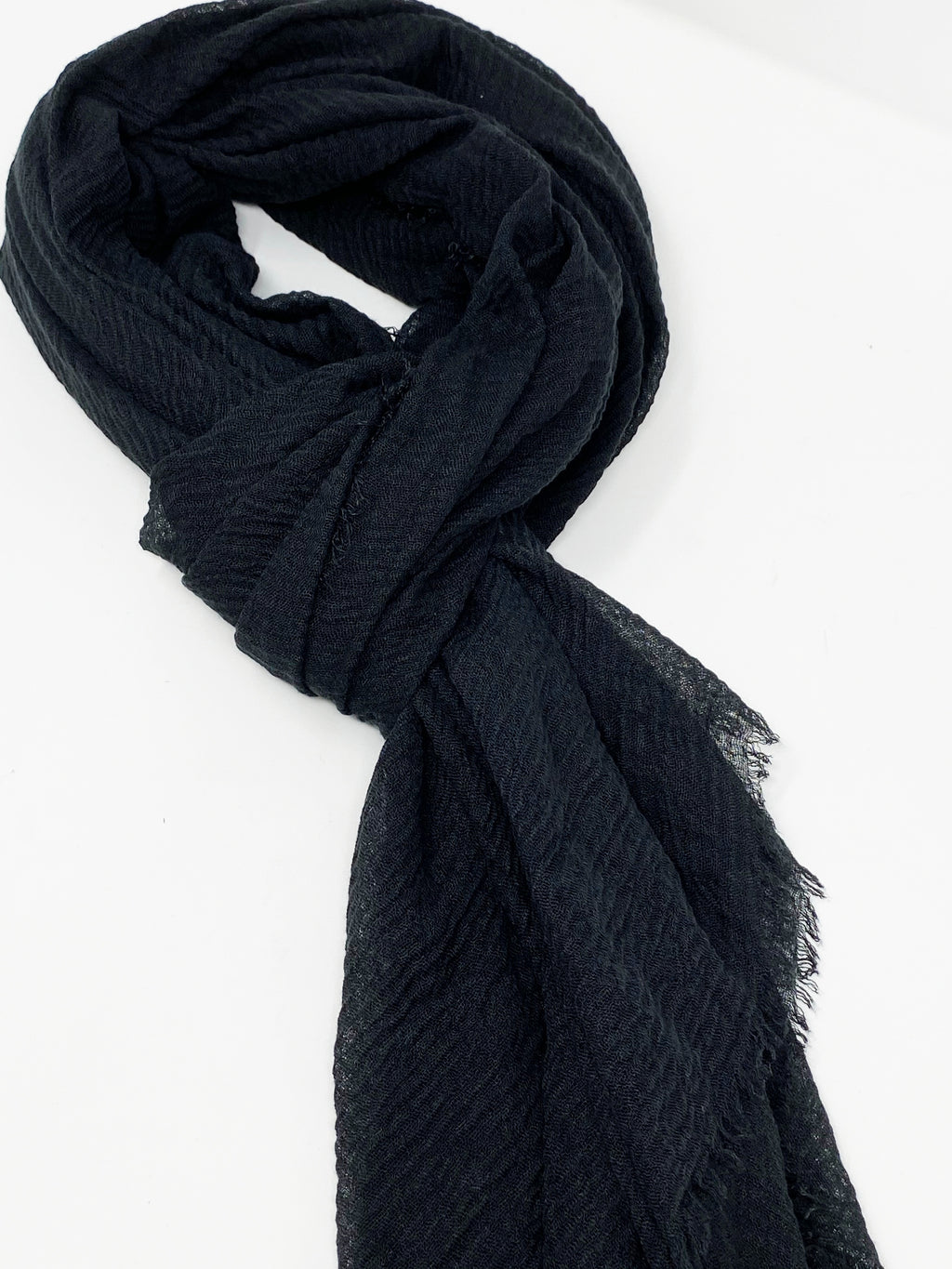 Boho Scarf in Black