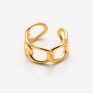 Calista Adjustable Ring in Gold