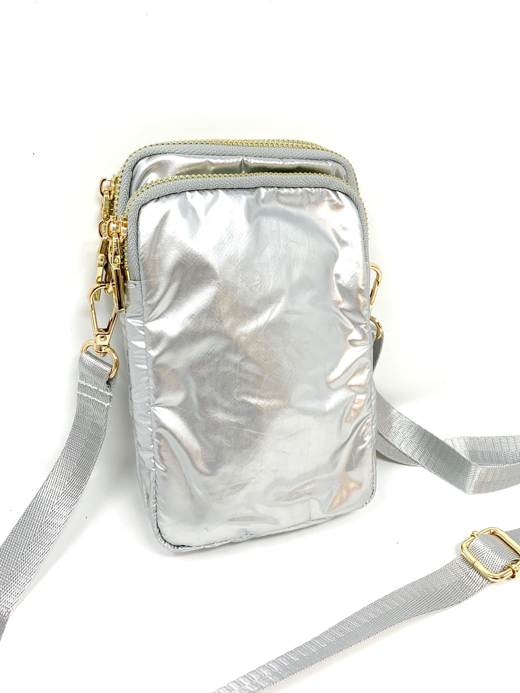 Cell Bag in Silver
