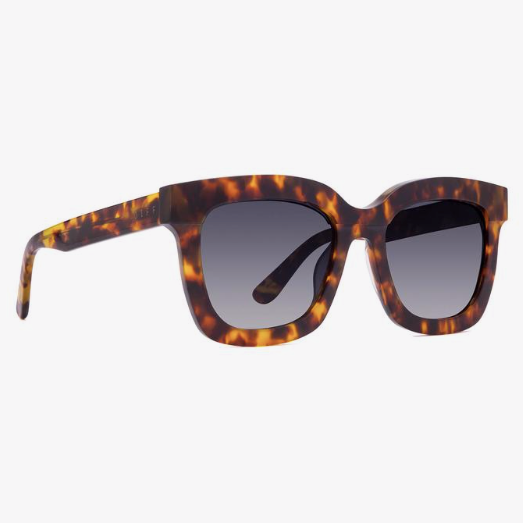 Carson Amber Tortoise with Blue Steel Gradient Polarized