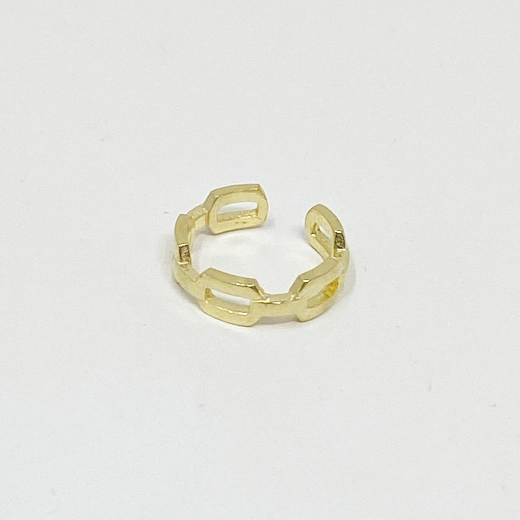 Kyle Chainlink Ear Cuff in Gold
