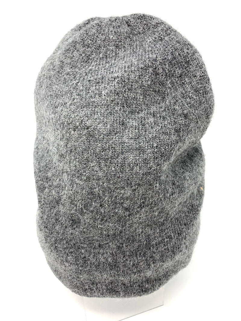 SALE! Cashmere Beanie in Charcoal