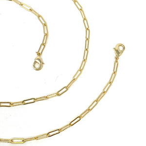 SALE! Gold Chainlink Mask Chain